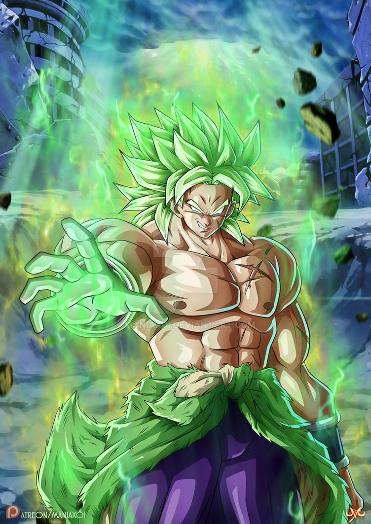 Broly Reboot by Maniaxoi