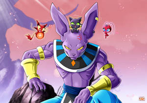 Beerus, Plagg, Longg and Tikki