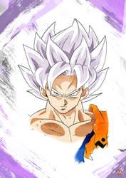 Goku Super Saiyan Ultra Instinct