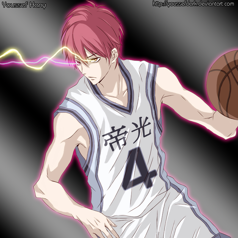 Akashi From Kuroko No Basket (Zone Mode) by YouSsefDark