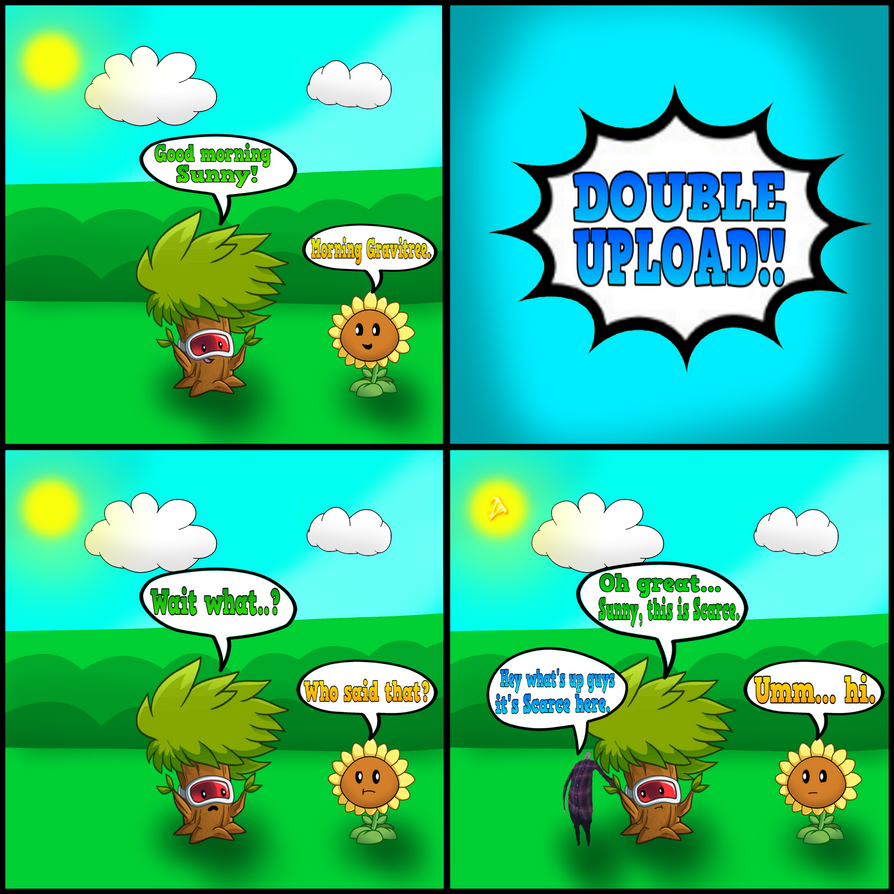 Plants Vs Zombies Comic The Scarce Meme By Aland420 On