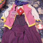 this costume is NiGHTS Into Dreams