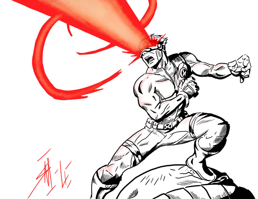 Cyclops by seaniredaleART