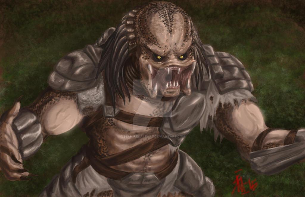 Predator by seaniredaleART