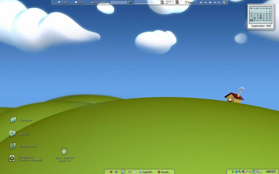 SharpE desktop
