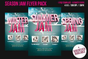 Season Jam Video Flyer / Print Flyer