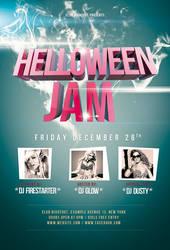 Helloween Jam Flyer / Videoflyer