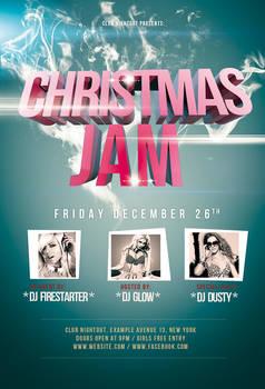 Christmas Jam Flyer / Videoflyer