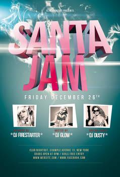 Santa Jam Flyer / Videoflyer