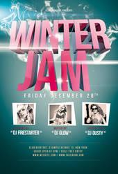 Winter Jam Flyer / Videoflyer by nadaimages