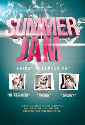 Summer Jam Flyer / Videoflyer by nadaimages