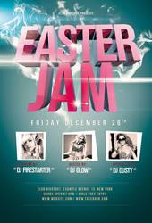 Easter Jam Jam Print Flyer / Videoflyer by nadaimages