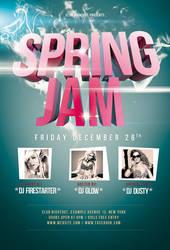 Spring Jam Print Flyer / Videoflyer