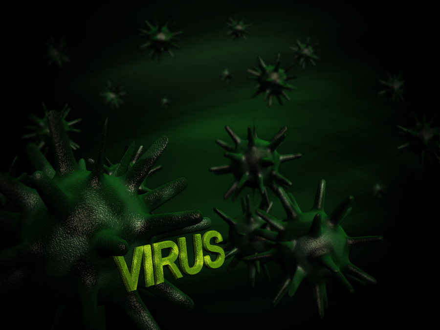 Wallpaper Virus by ksini on DeviantArt