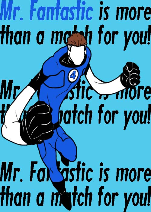 Mister Fantastic by blindfaith311