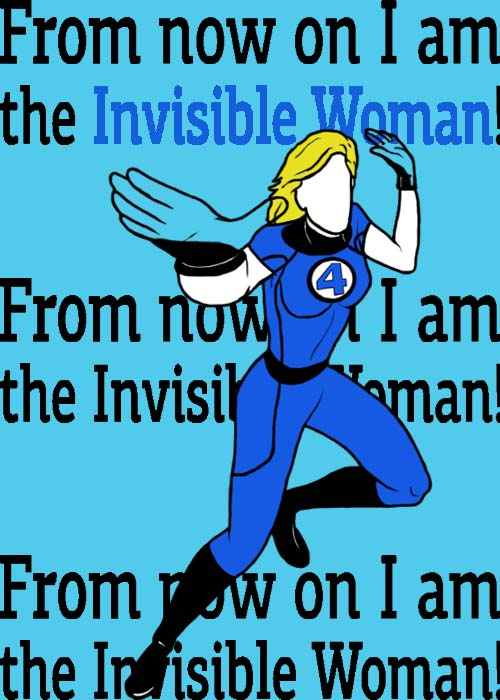 Invisible Woman by blindfaith311