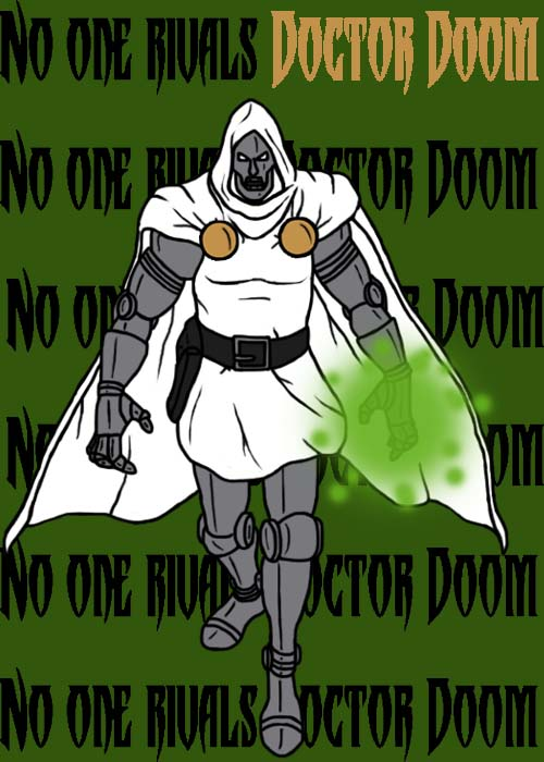 Doctor Doom by blindfaith311