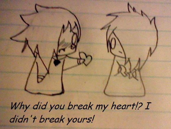 Emo Heartbreak Drawings Heartbroken Drawings Emo