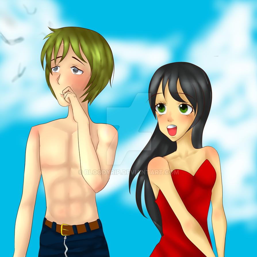 Paint Tool Sai Price >> :Comm: Couple 00-Maigo-Chou-00 by BloodyRiP on DeviantArt