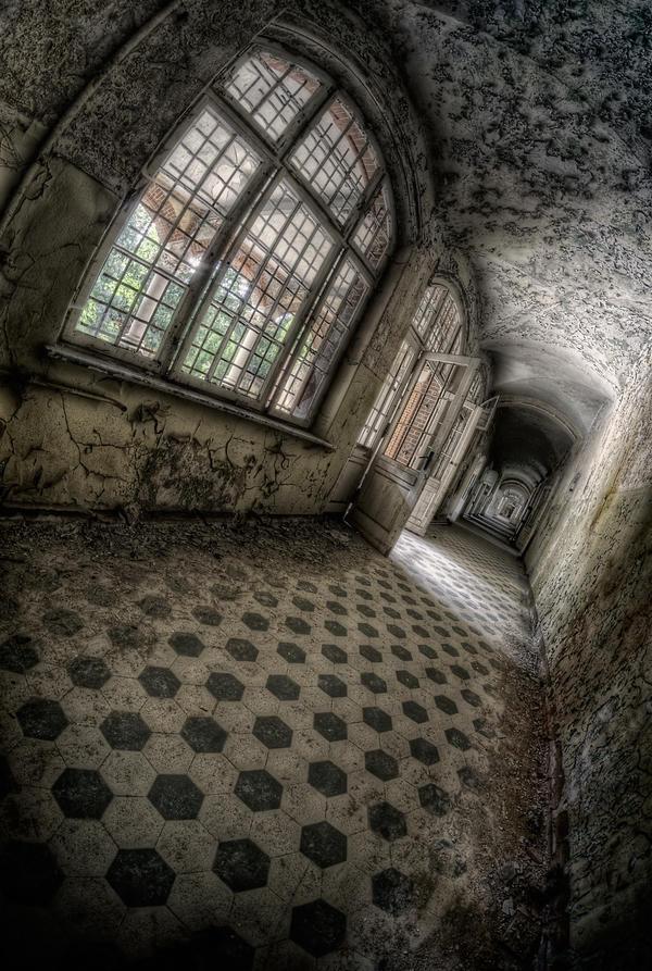 Hallway by Matthias-Haker