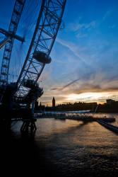 London Silhouettes by Matthias-Haker