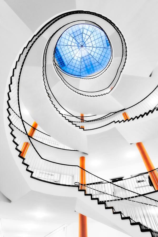 Orange Blue by Matthias-Haker