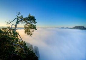 Waterfall of Clouds by Matthias-Haker