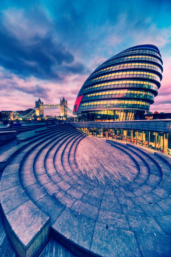 London City Hall by Matthias-Haker