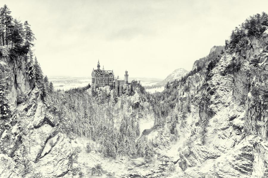 The Fairytale Castle II by Matthias-Haker