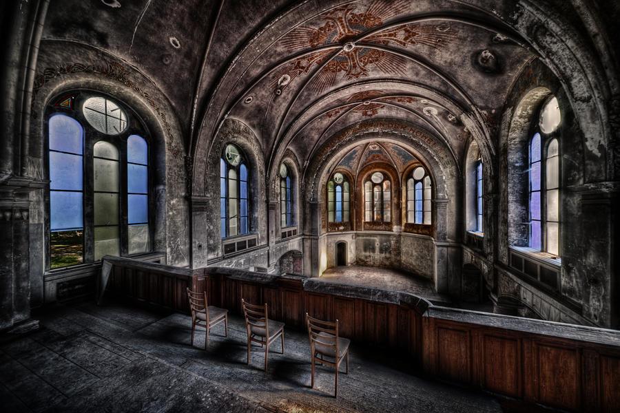 La Chapelle Bleue by Matthias-Haker