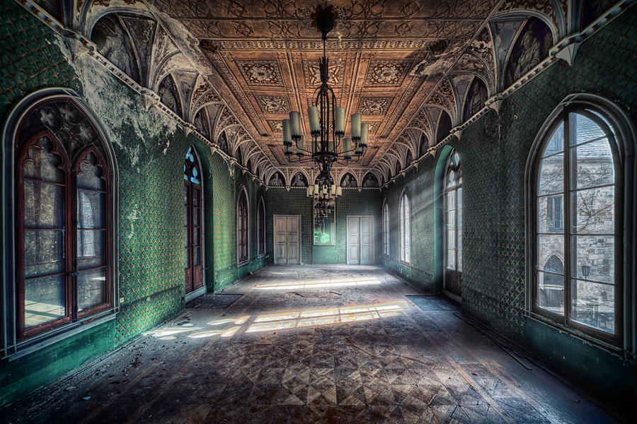 Ballroom by matthias haker on deviantart - The beauty of an abandoned house the art behind the crisis ...