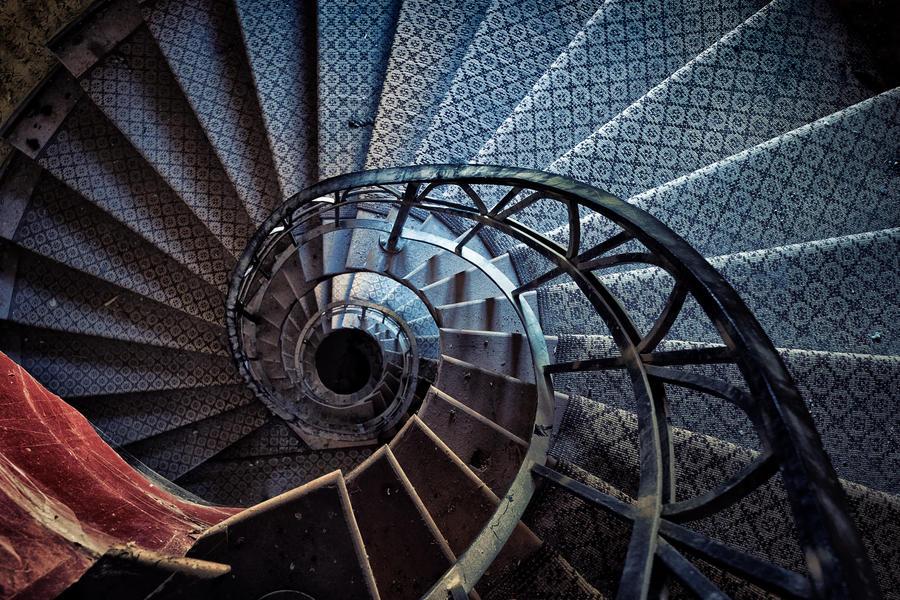 Rapunzel Stairs by Matthias-Haker
