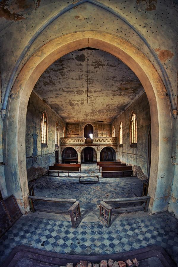 Concrete Church II by Matthias-Haker