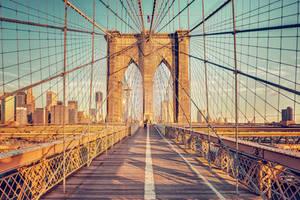 Brookly Bridge II by Matthias-Haker