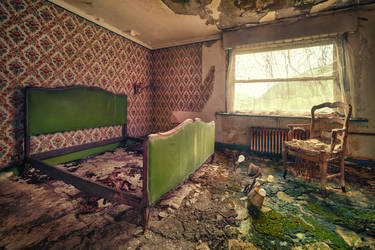 The Green Room by Matthias-Haker