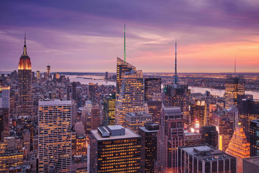 Nightfall in NYC by Matthias-Haker