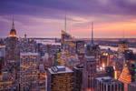 Nightfall in NYC