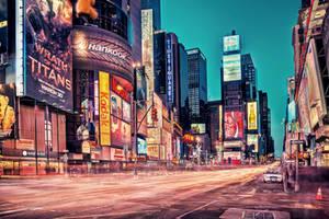 Times Square by Matthias-Haker