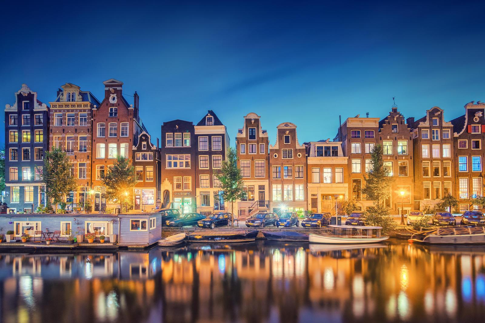 Amsterdam Reflections by Matthias-Haker