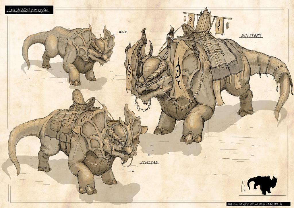 Creature Design by Archon0419