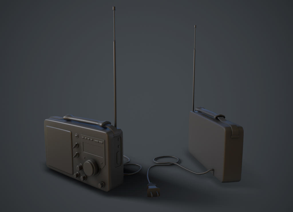 Radio Model by KevinLongtime