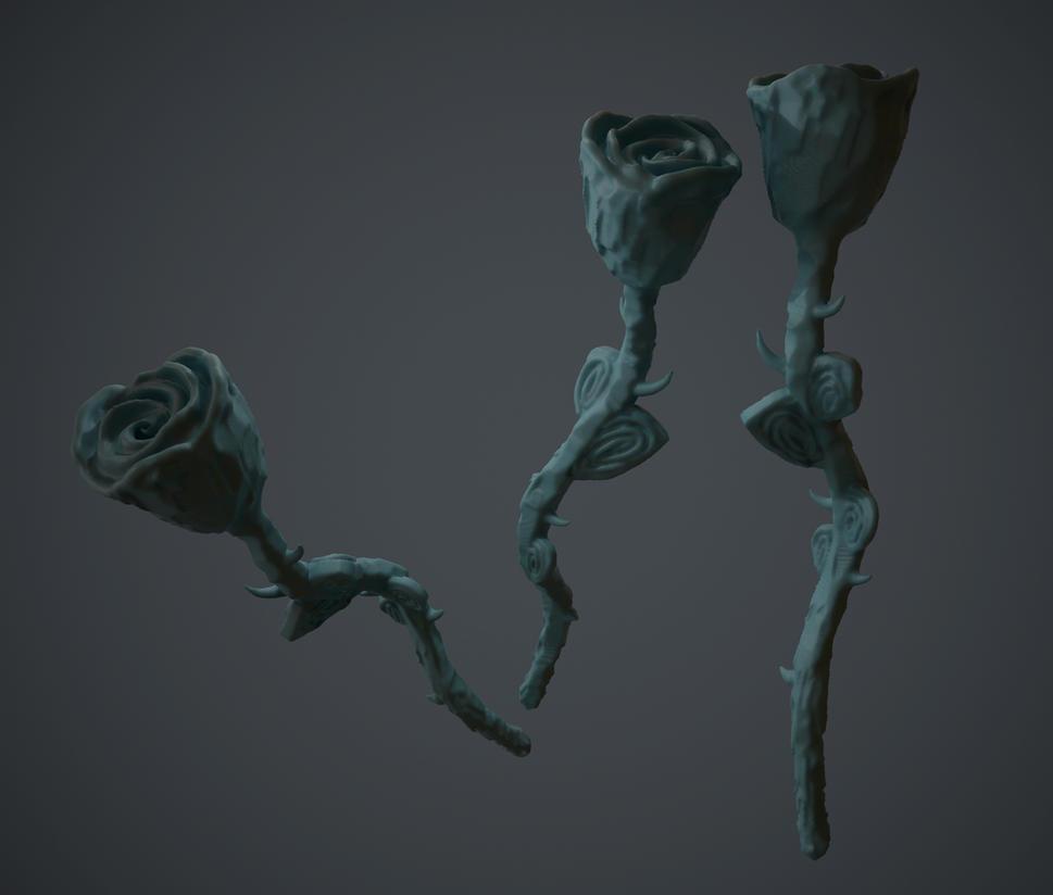 Carved Rose (Oculus Medium) by KevinLongtime