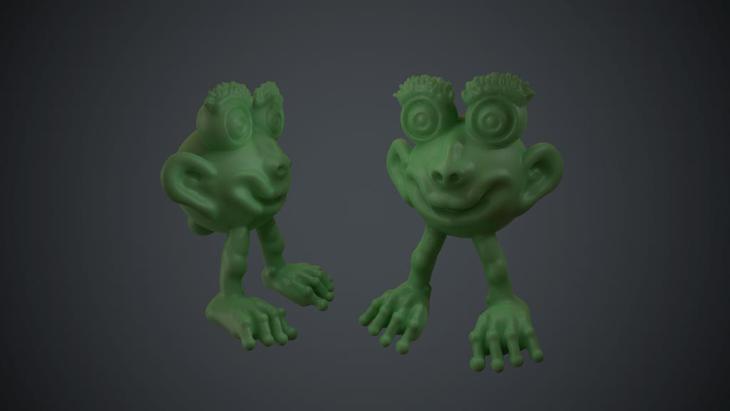 Frog-Man (Oculus Medium) by KevinLongtime