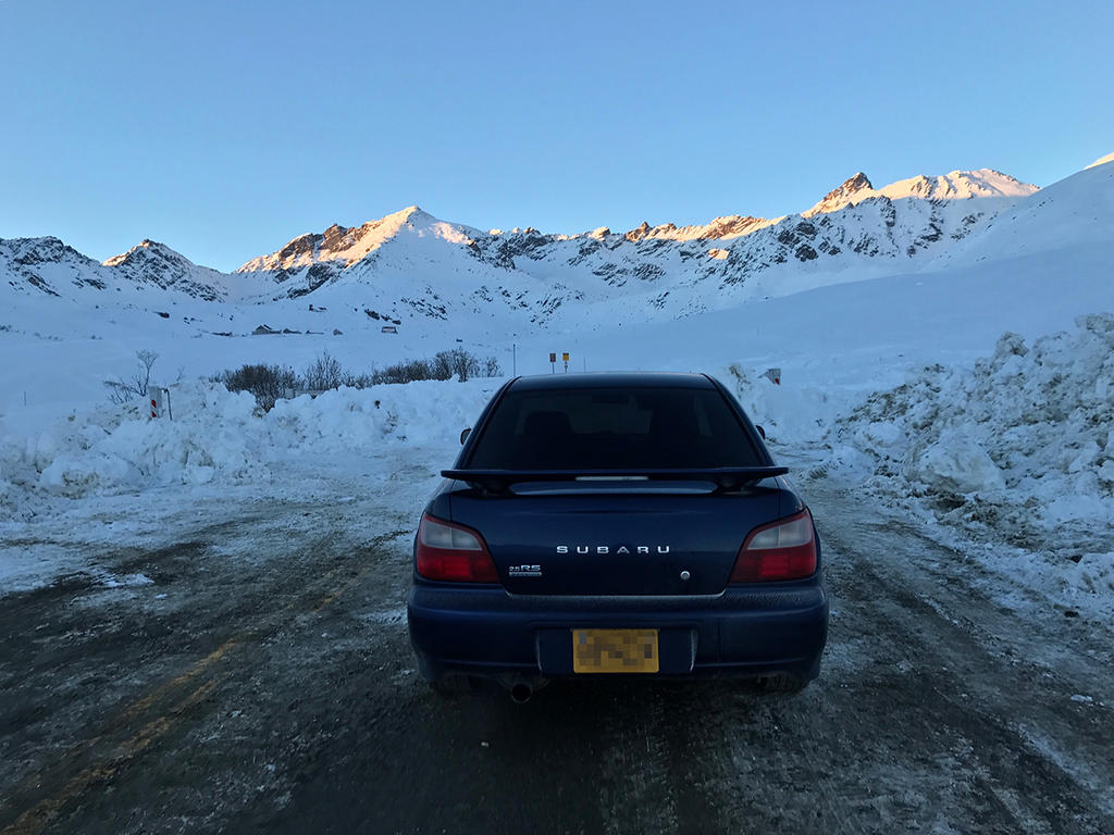 New car up in the mountains! (Alaska) by KevinLongtime