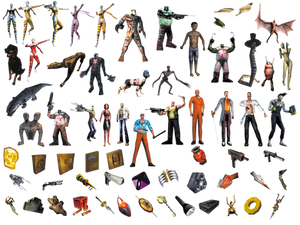 Shadow Man Video Game Characters (transparent)