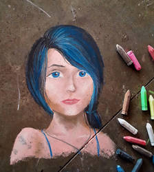 More chalk art