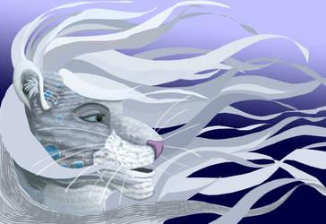 WIP majime fursona colored by Samoht-Lion