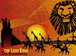 Lion king On Broadway Abstract
