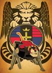 Voltron Art Nouveau Black Lion