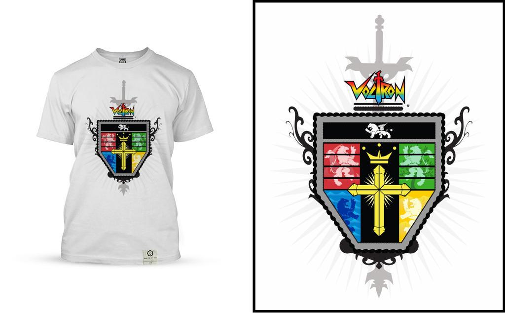 Voltron Lions Colors Voltron-coat-of-arms-colored